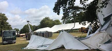 Ellingham Show 2019 damage
